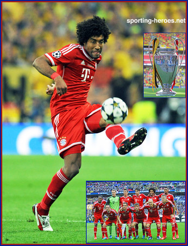 Dante - Bayern Munchen - 2013 Champion League Final - winner.