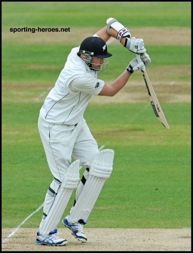 Peter FULTON - New Zealand - Test Record