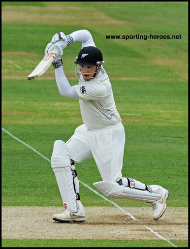 Hamish RUTHERFORD - New Zealand - Test Record