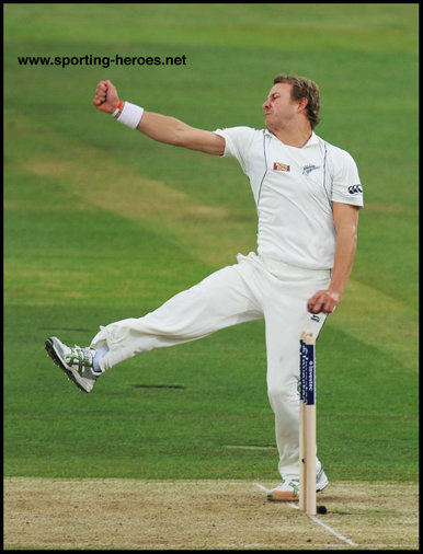 Neil WAGNER - New Zealand - Test Record