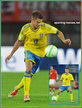 Alexander KACANIKLIC - Sweden - 2014 World Cup Qualifying matches for Sweden.