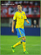 Mikael LUSTIG - Sweden - 2014 World Cup Qualifying matches for Sweden.