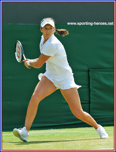Laura ROBSON - Great Britain - Last sixteen at 2013 Wimbledon Lawn Tennis Championships.
