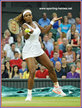 Serena WILLIAMS - U.S.A. - Shock defeat at Wimbledon 2013 for Champion Serena.