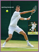 Kenny DE SCHEPPER - France - Quarter finalist at Wimbledon 2013.