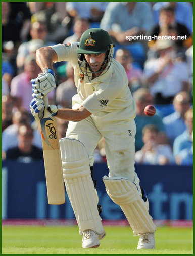 Mike Hussey - Australia - Test record part two.