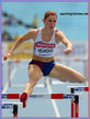 Zuzana HEJNOVA - Czech Republic - 2011 Finalist in 400m hurdles at World Championships in Daegu.