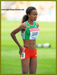 Genzebe DIBABA - Ethiopia - 2011 8th in 5000m at World Atheltics Championship.
