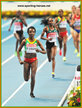 Tirunesh DIBABA - Ethiopia - 2013 World Champion in Moscow in women's 10,000 metres.