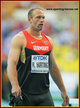 Robert HARTING - Germany - 2013: Third IAAF Gold medal for the 2012 Olympic Champion.
