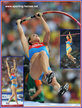 Yelena ISINBAYEVA - Russia - 2013: Third World Championship win for World Record holder.