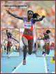 Caterine IBARGUEN - Colombia - 2013 : triple jump Gold medal at World Athletics Championships.