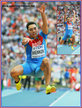 Aleksandr MENKOV - Russia - 2013: World Champion long jump gold in Moscow.