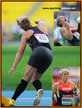 Christina OBERGFOLL - Germany - 2013 World Champion for the javelin in Moscow.