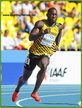 Nickel ASHMEADE - Jamaica - 2013: 4th place  mens 200m final at World Championships.