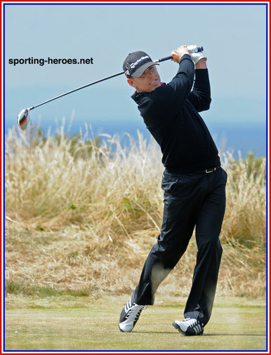 Justin Leonard - U.S.A. - 2013: 13th. at British Open Golf Championship.