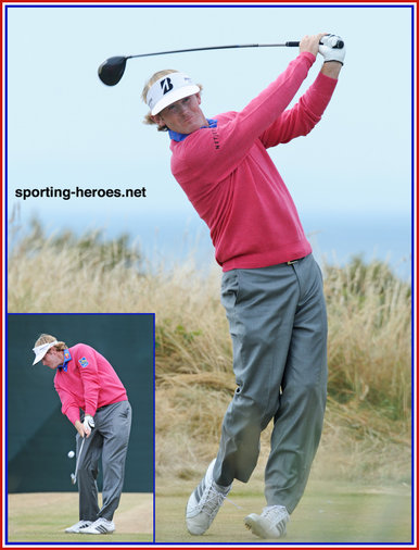 Brandt SNEDEKER - U.S.A. - 2013: =9th. at British Open. = 17th at US Open.