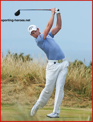 Danny WILLETT - England - 2013: 15th= at The British Open Golf Championship.