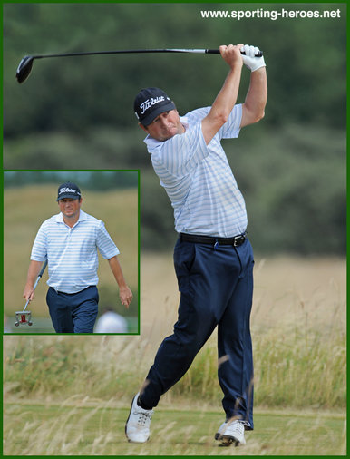 Tim Clark - South Africa - 2013: 11th at Masters & leading S. African in Augusta.