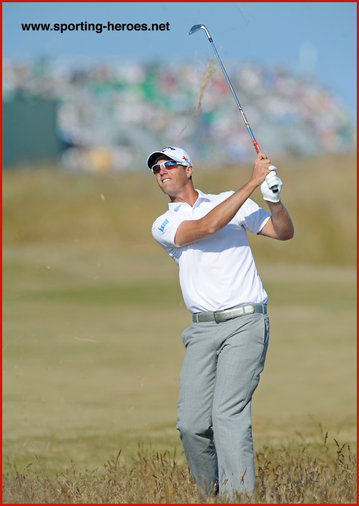 Nicolas COLSAERTS - Belgium - 2013: 10th place at U.S. Open Golf Championship.
