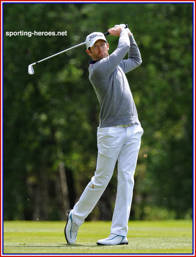 Gregory Bourdy - France - 2013 : Winner of ISPS Handa Wales Open Golf Tournament.