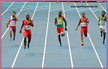Tony McQUAY - U.S.A. - 2013: Silver medal 400m at World Athletics Championships.