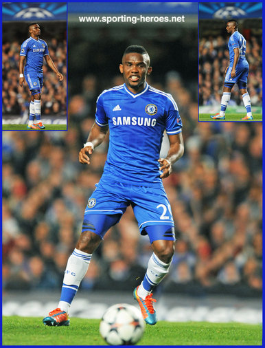Samuel Eto'o - Chelsea FC - 2013/14 Champions League matches for Chelsea.