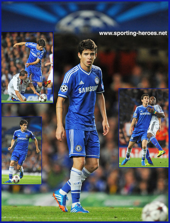 2013 14 Ch ions League Matches For Chelsea a32081 on oscar chelsea fc 2014