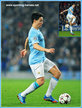 Samir NASRI - Manchester City FC - 2013/14 Champions League matches.