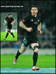Ryan CROTTY - New Zealand - International rugby matches for The All Blacks.