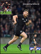 Tawera KERR-BARLOW - New Zealand - International rugby matches for The All Blacks.