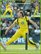 James FAULKNER - Australia - Test Record for Australia.