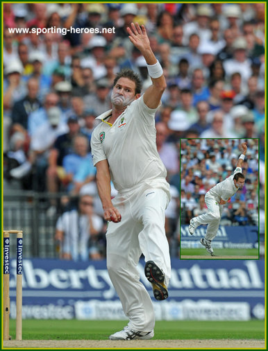 Ryan HARRIS - Australia - Test Record for Australia