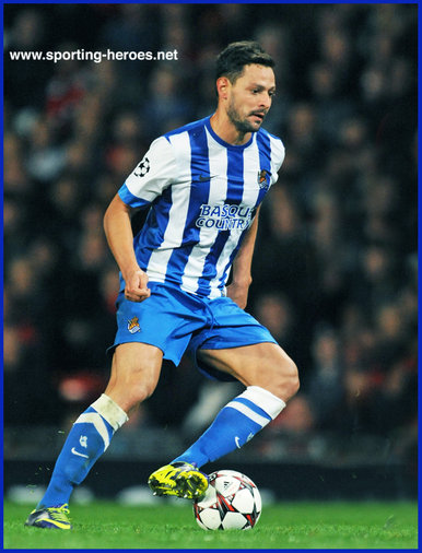 Alberto de la BELLA - Real Sociedad - 2013/14 Champions League matches.