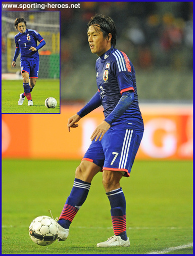 Yasuhito Endo - Japan - 2014 World Cup qualifying matches.