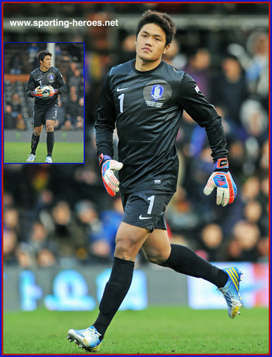 Jung Sung-Ryong - South Korea - FIFA 2014 World Cup Qualifying matches.