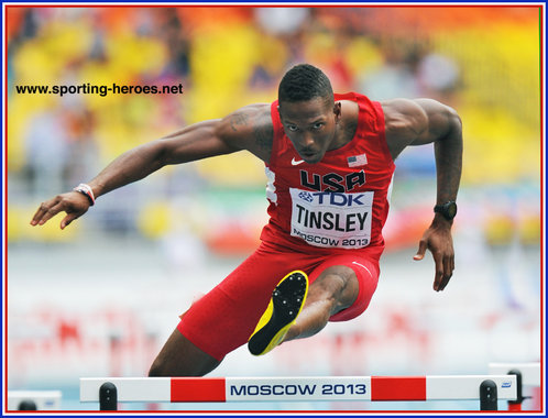Michael TINSLEY - U.S.A. - Silver medal at 2013 World Championships in Moscow.