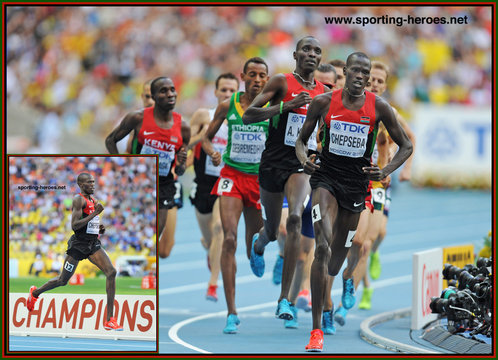 Nixon Kiplimo CHEPSEBA - Kenya - Fourth place in 1500 metres at World Championships.