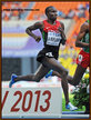 Silas KIPLAGAT - Kenya - Sixth at 2013 World Championship is Moscow in 1500m.