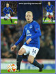 Steven NAISMITH - Everton FC - Premiership Appearances