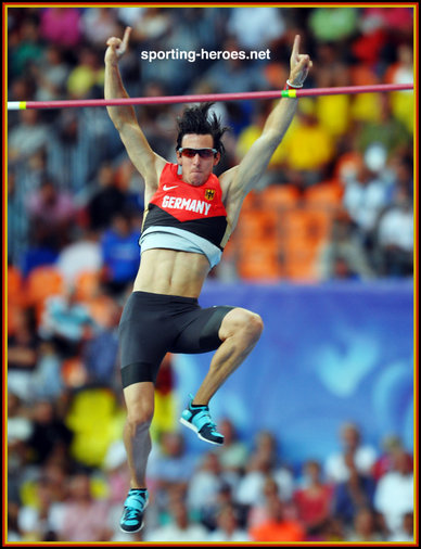 Malte MOHR - Germany - Fifth place at 2013 World Championship pole vault.
