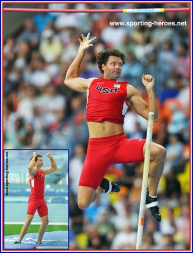 Brad Walker - U.S.A. - Fourth place at 2013 World pole vault Championship.