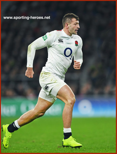 Jonny MAY - England - International rugby union caps.