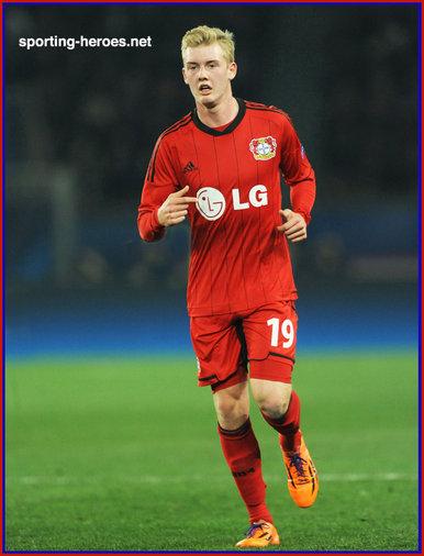 Julian BRANDT - 2013/14 Champions League matches. - Bayer Leverkusen