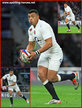 Luther BURRELL - England - International rugby union caps for England.