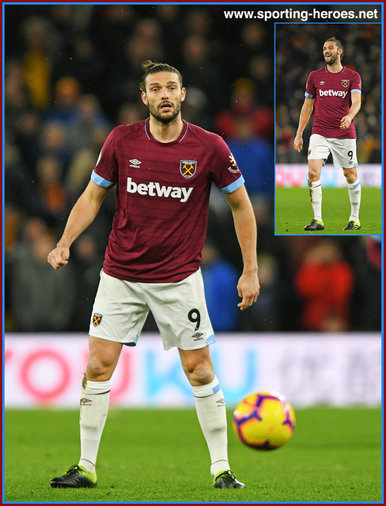 Andy Carroll - West Ham United FC - Premiership Appearances