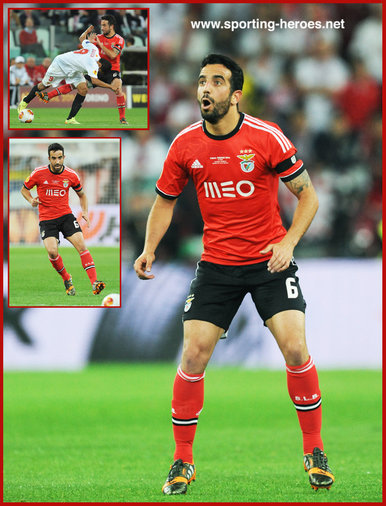 Ruben AMORIM - Benfica - 2014 Europa League Final.