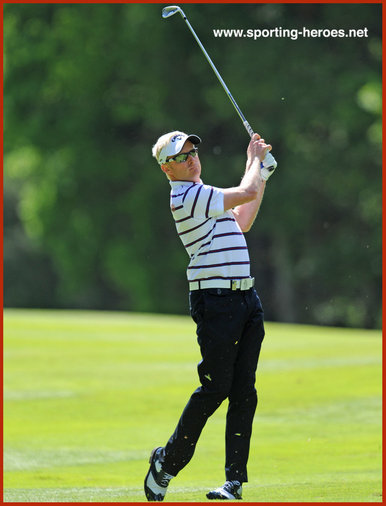 Simon Dyson - England - 5th place at 2014 European PGA Championship.
