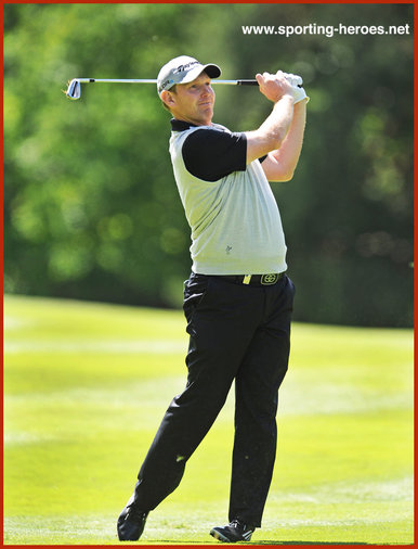Stephen Gallacher - Fifth at 2014 European PGA victory ar Ryder Cup.