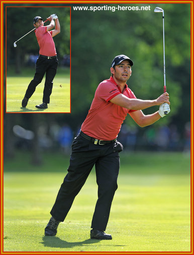 Pablo Larrazabal - Spain - 7th at 2014 European PGA Championship.